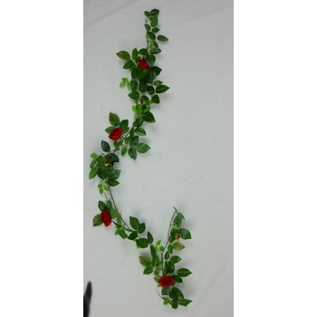 Red Rose Garland