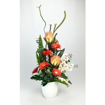 Orange Protea Arrangement