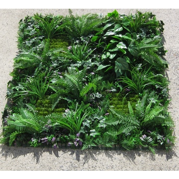 Fern and Mixed Greenery Panel
