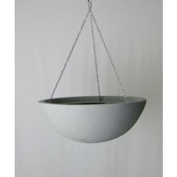Graphite Fibreglass Hanging Basket