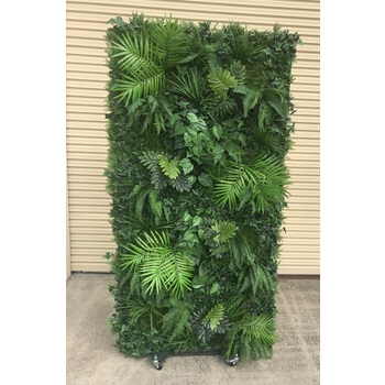 Tropical Media Green Wall